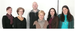 Vor der Rezertifizierung: Die Bibliotheksleitungen aus Geislingen, Neckarsulm und Öhringen sowie die Vertreterinnen des IQO