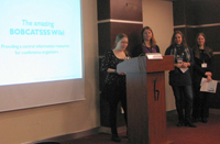 BIB-Studierende stellen ihr Projekt in Ankara vor