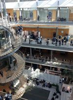 BI goes Leipzig: Erfolgreiche Messepr�senz des Studiengangs Bibliotheks- und Informationsmanagement auf dem Bibliothekskongress in Leipzig
