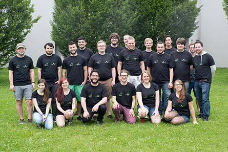 Das Team von Schacht - Foto: Benjamin Wohlbrecht
