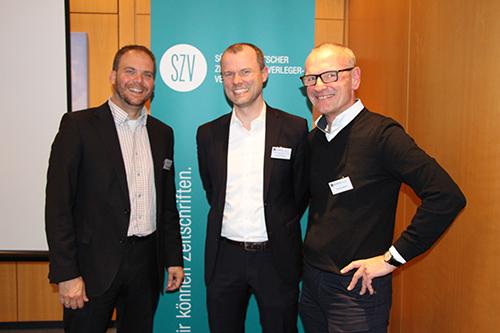 v.l.r. Prof. Christof Seeger, Patrick Priesmann, Andreas Gebauer