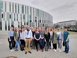 Die angehenden Mediapublisher stemmen gemeinsam mit den Jungen Verlagsmenschen das Jahrestreffen an der HdM Stuttgart (Foto: Junge Verlagsmenschen)