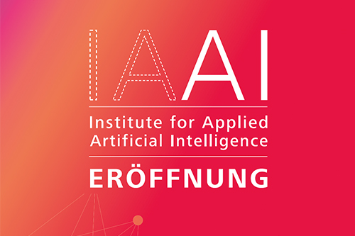 Eröffnung Institute for Applied Artificial Intelligence