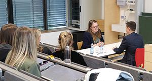 Live-Bewerbungsgespräch mit Thieme-Personalleiter Andreas Ströbele