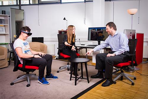 Bei Games sind VR-Brillen ein Thema