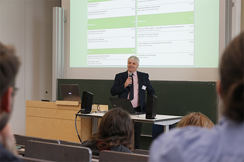 Prof. Uwe Schulz am GamesDay 2018
