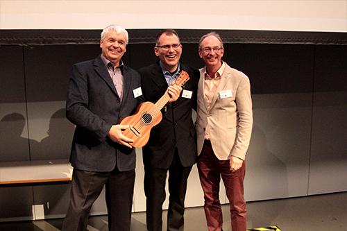 Uwe Schulz, Martin Fuchs und Jens-Uwe Hahn am diesjährigen Games Day