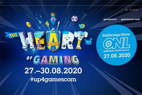Die gamescom 2020 findet rein virtuell statt. (Bild: Screenshot gamescom)