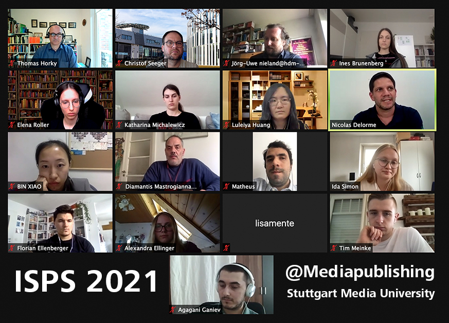 Mediapublishing Teil der internationalen Studie ISPS 2021