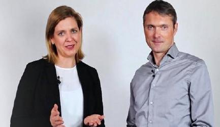 Die Autoren Stefanie Quade und Prof. Dr. Okke Schlüter