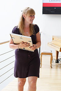 Victoria Hentschel, Preisträgerin des Hermann-Waßner-Preises