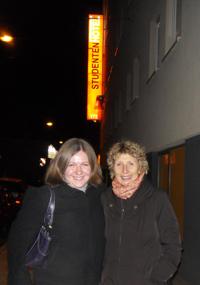 Meredith Lowe und Prof. Ingeborg Simon – Foto: Susanne Krüger