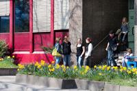 Eingang der Fakultät in der Wolframstraße 32 (Foto: Sven Cichowicz)