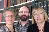 v. l. n. r. Prof. Dr. Ursula Georgy, Prof. Dr. Gerhard Hacker, Prof. Dr. Ute Krauß-Leichert)