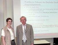 Prof. Heidrun Wiesenmüller und Prof. Dr. Martin Götz