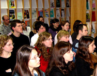 Besucher des KarriereTalks Januar 2008