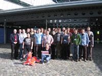 Teilnehmer/innen und Organisator/innen des BibCamp 2009