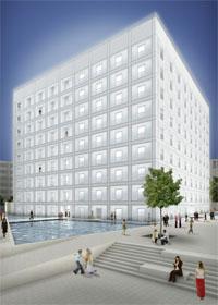 Die neue Bibliothek. Foto: Yi Architects/Aldinger und Wolf