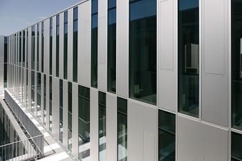 Neubau - Fassade Innenhof