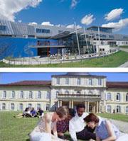 Stuttgarter Hochschule der Medien (oben) und Universität Hohenheim (unten)