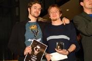 Nahmen den ersten Preis in Empfang: Thomas Grummt und Michael Duldner