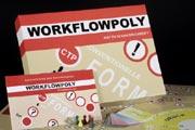 "Brettspiel ""Workflowpoly""  (Foto: HdM, Eva Löffler)"
