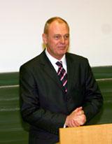 Prof. Christian Gerloff bei seiner Antrittsvorlesung
