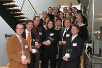 Preisträger mit Meta-Team<br><i>Foto:Ellen Brüx</i> - Zur Detailansicht