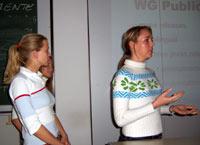 Das Projektteam analysiert und entwickelt Marketingmaßnahmen