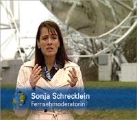 Fernsehmoderatorin Sonja Schrecklein
