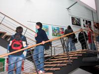 Ausstellung im Foyer der HdM