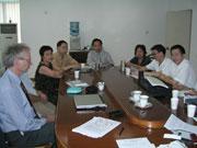 TU Xi'an und HdM: Verhandlungsrunde über den neuen Studiengang