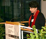 Die Mitinitiatorin des META-Preises, Professorin Dr. Petra Grimm