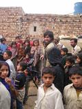 Bei den Dreharbeiten in Pakistan