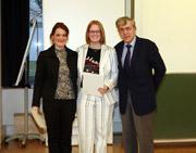 Isabelle Reichherzer, Gesa Krauss, Prof. Andreas Papendieck (v.l.)  (Foto: Michael Vitz/HdM Stuttgart)
