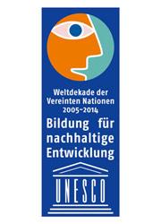"""Weltdekade der Vereinten Nationen """"Bildung für nachhaltige Entwicklung"""""""