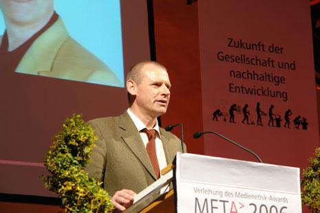 Einer der Preisträger: Dr. Klaus-Dieter Linsmeier, Redakteur beim Wissensmagazin Spektrum der Wissenschaft