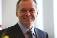 Bernhard Schreier, Vorstandsvorsitzender Heidelberger Druckmaschinen AG und Ehrensenator der HdM