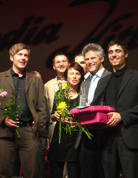 Die Gewinner bei der LFK-Medienpreisverleihung (Foto: Ina Lorenz)