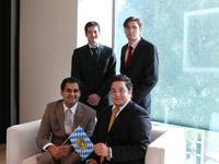 Vier Studenten der Fachhochschule Landshut auf dem dritten Platz (Foto: Petra Rösch)