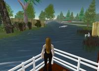 Blick auf den Fluss