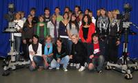 Die Klasse 10b des Friedrich-List-Gymnasiums aus Gemünden an der HdM (Foto: HdM)