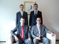 Die Sieger: das Team der Technischen Universität Darmstadt