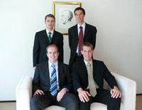 Platz zwei: das Team der Universität Stuttgart