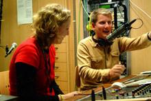 Beim Hochschulradio übernehmen Studierende die Musik für den Alltag