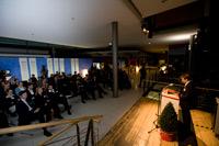 Verleihung des Medienethik-Awards im Foyer der HdM (Foto: Sven Cichowicz)