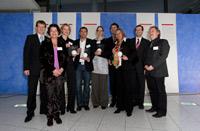 Preisträger und Organisatoren  (Foto: Sven Cichowicz)  - Zur Detailansicht