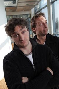 Dennis Kaupp (rechts) und Jesko Friedrich (links)