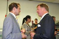 Professor Dr. Alexander Roos und Dr. Gert Sieger