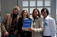 Das Projekt-Team (Foto: Stadtbücherei Stuttgart/HdM)
